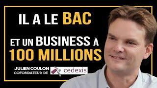 Une entreprise à 100 MILLIONS avec seulement un bac ?! - Julien Coulon