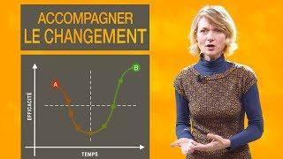 Comment piloter le changement : la courbe du changement