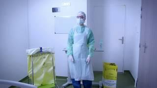 Comment sont éliminés les déchets issus de soins des patients infectés par le COVID-19 ?