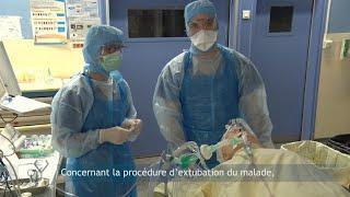 COVID-19 Bloc opératoire : extubation