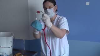 Déshabillage en zone covid-19 avec des dispositifs médicaux